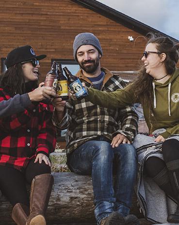 Bières et amis